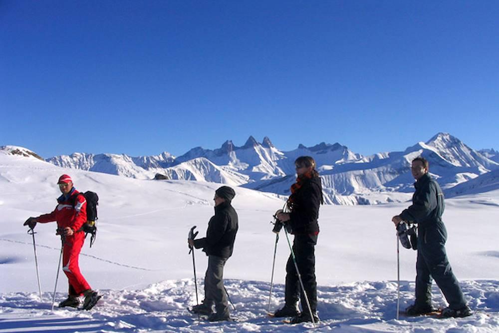 Ski de randonnée encadrée par l'ESF Saint Sorlin d'Arves © ESF Saint Sorlin d'Arves
