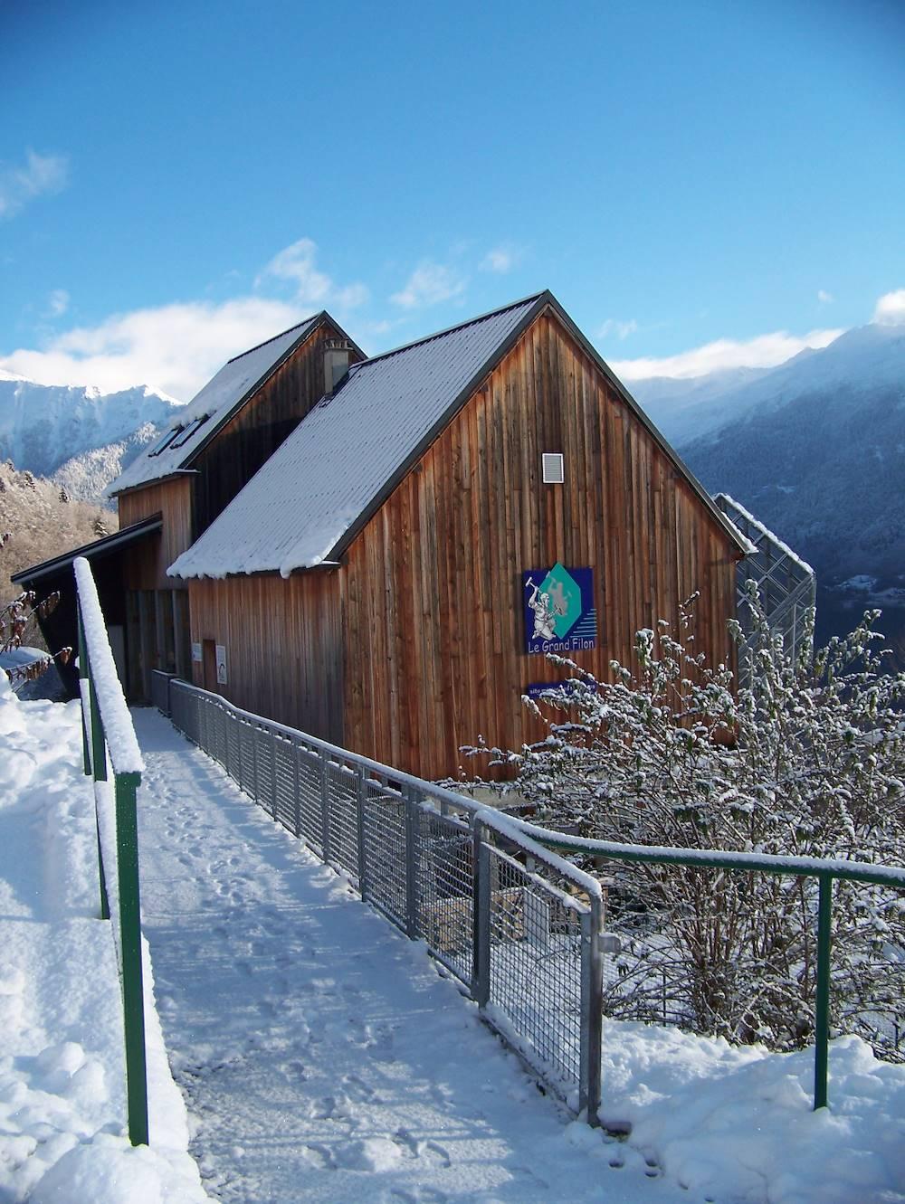 Le Grand Filon Hiver © OT Porte de Maurienne