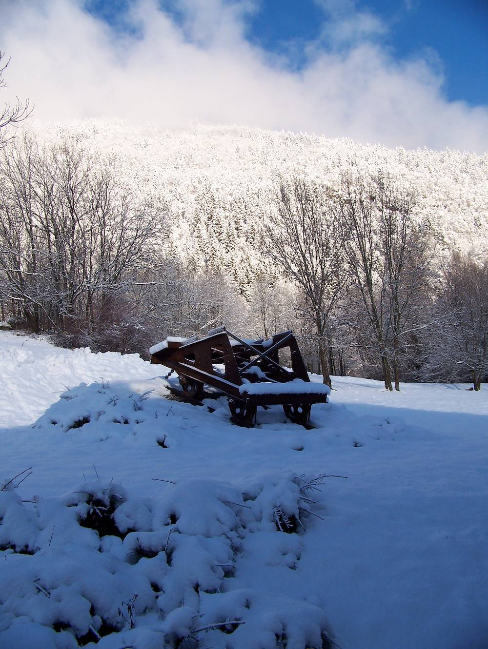 Vestige minier © OT Porte de Maurienne