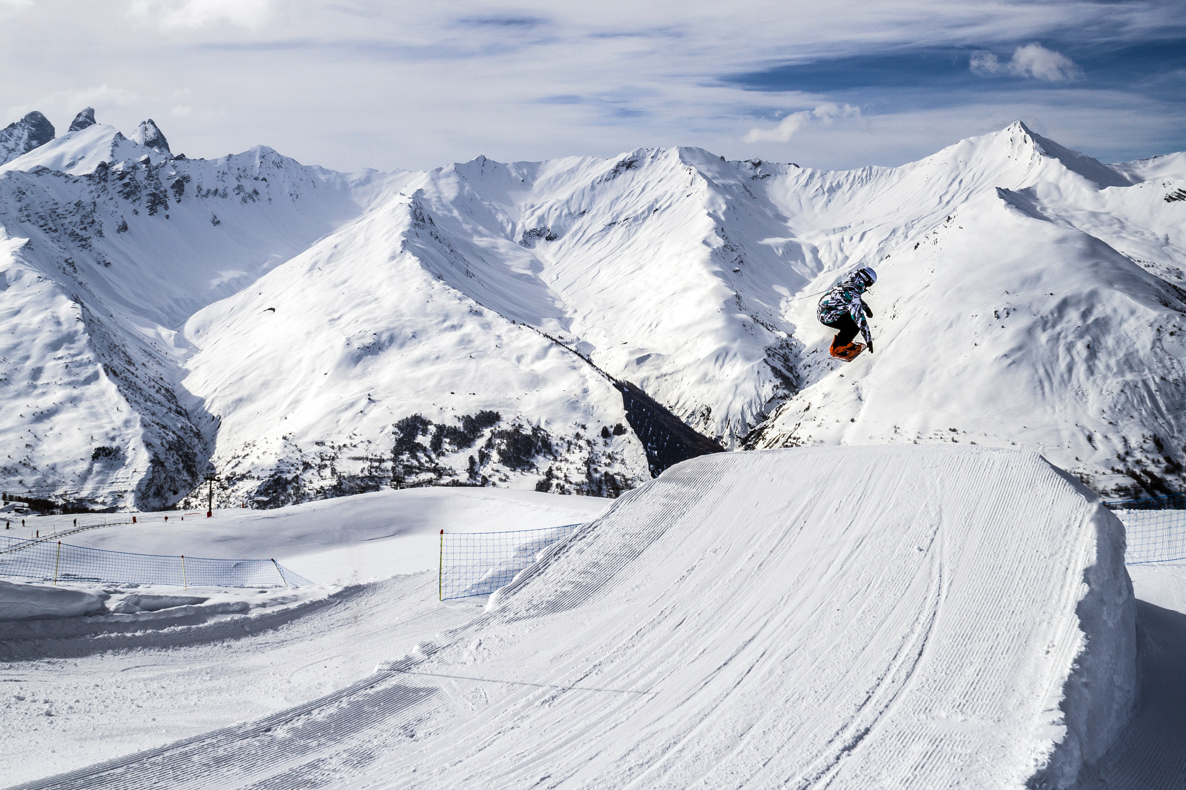Snowpark de Valloire © M Zimmer/ Ot Valloire