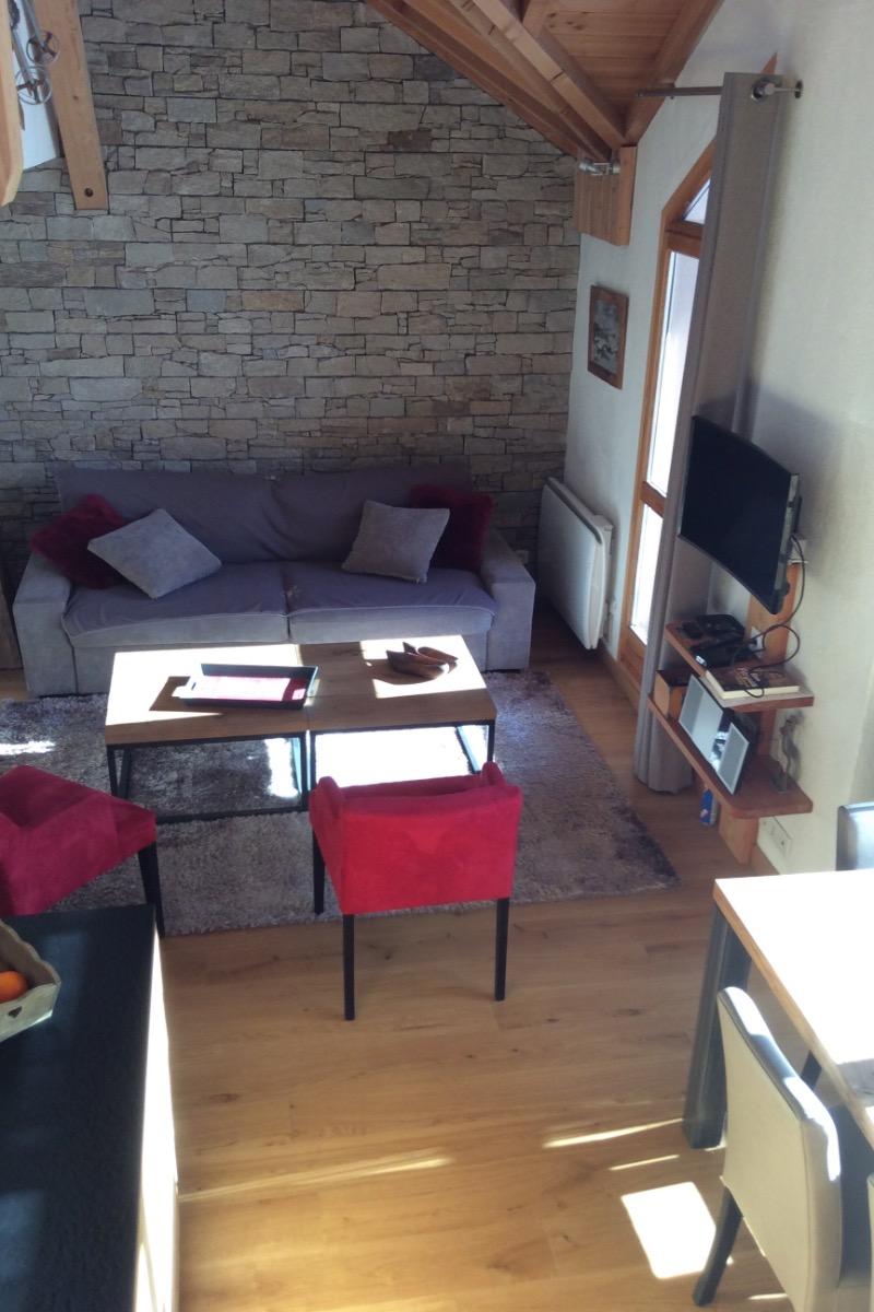 Appartement plein sud anbiance chalet pour 8 personnes Valloire Galibier © Clévacances