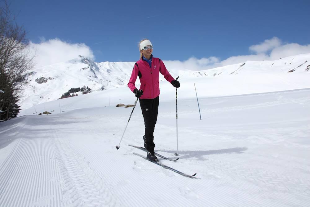 La Toussuire ski de fond © @Cliclacphotos