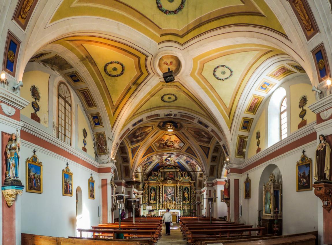 Eglise baroque St Saturnin © A.Bouler pour l'Office du Tourisme de Saint Sorlin d'Arves