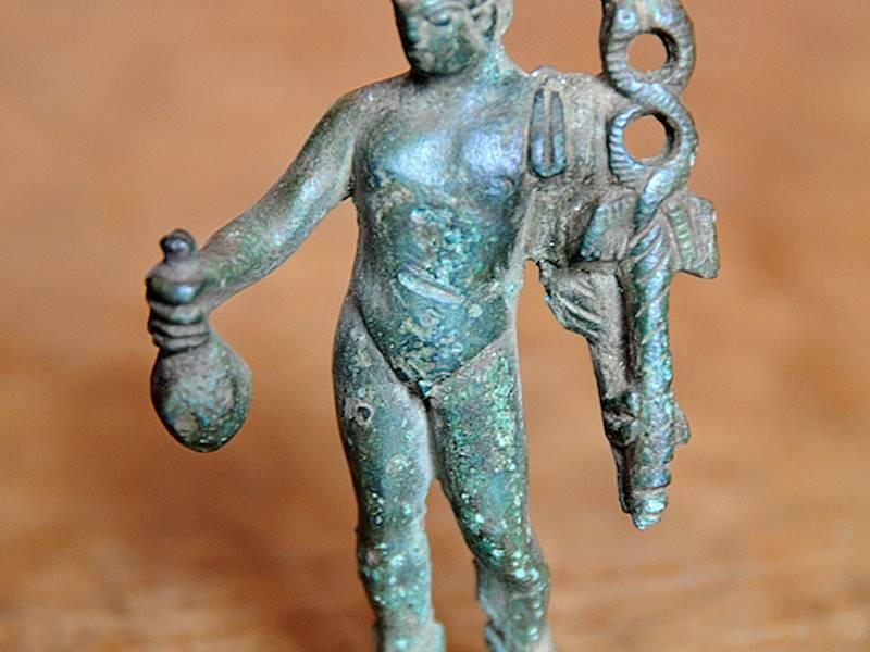 Statuette de Mercure © Pierre Dompnier