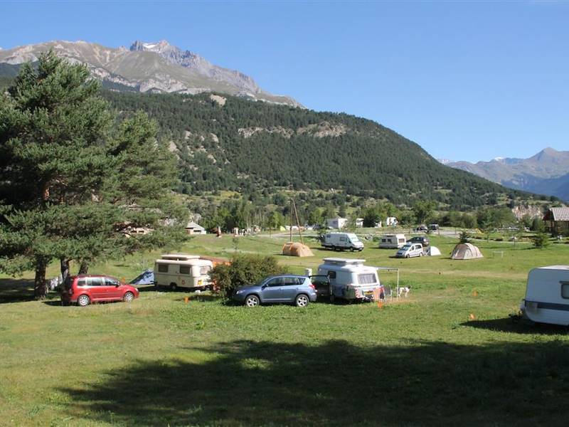 Emplacement du camping ©