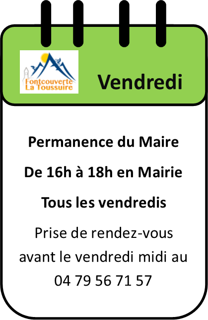Permamence du Maire