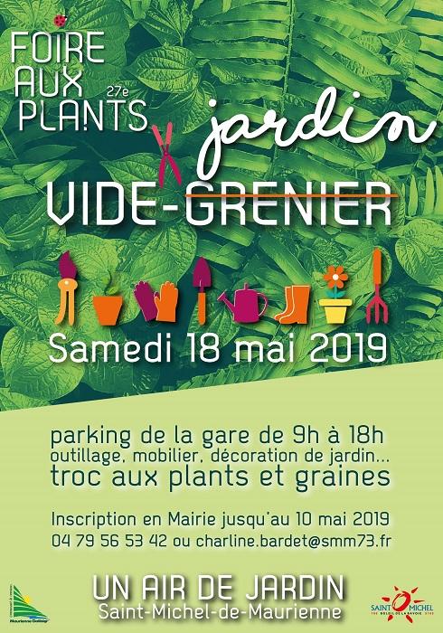 FOIRE AUX PLANTS : Vide jardin