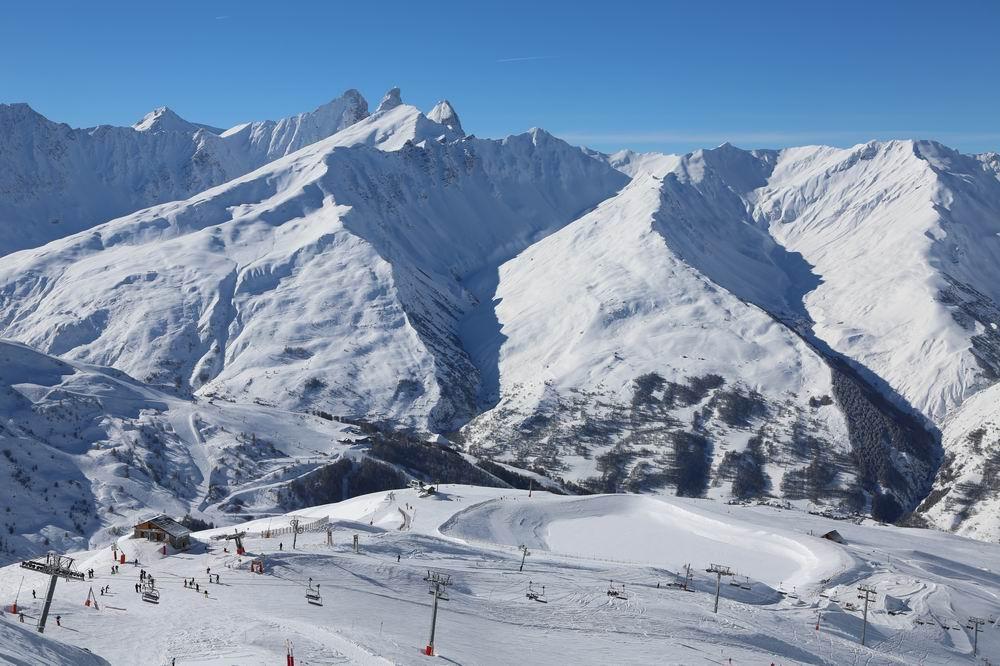 Domaine skiable GALIBIER-THABOR    © P.Delannoy-OtValloire