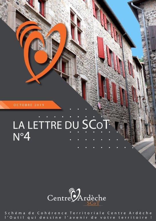 OCTOBRE 2019 LA LETTRE D'INFO DU SCOT N°4