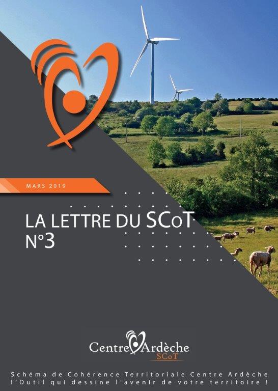 MARS 2019 LA LETTRE D'INFO DU SCOT N°3