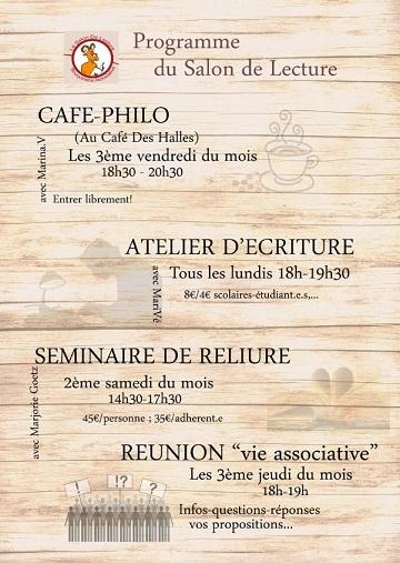 © Le salon de lecture