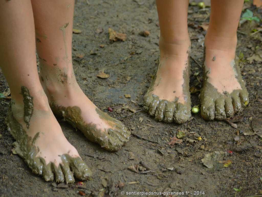 © Le sentier pieds nus
