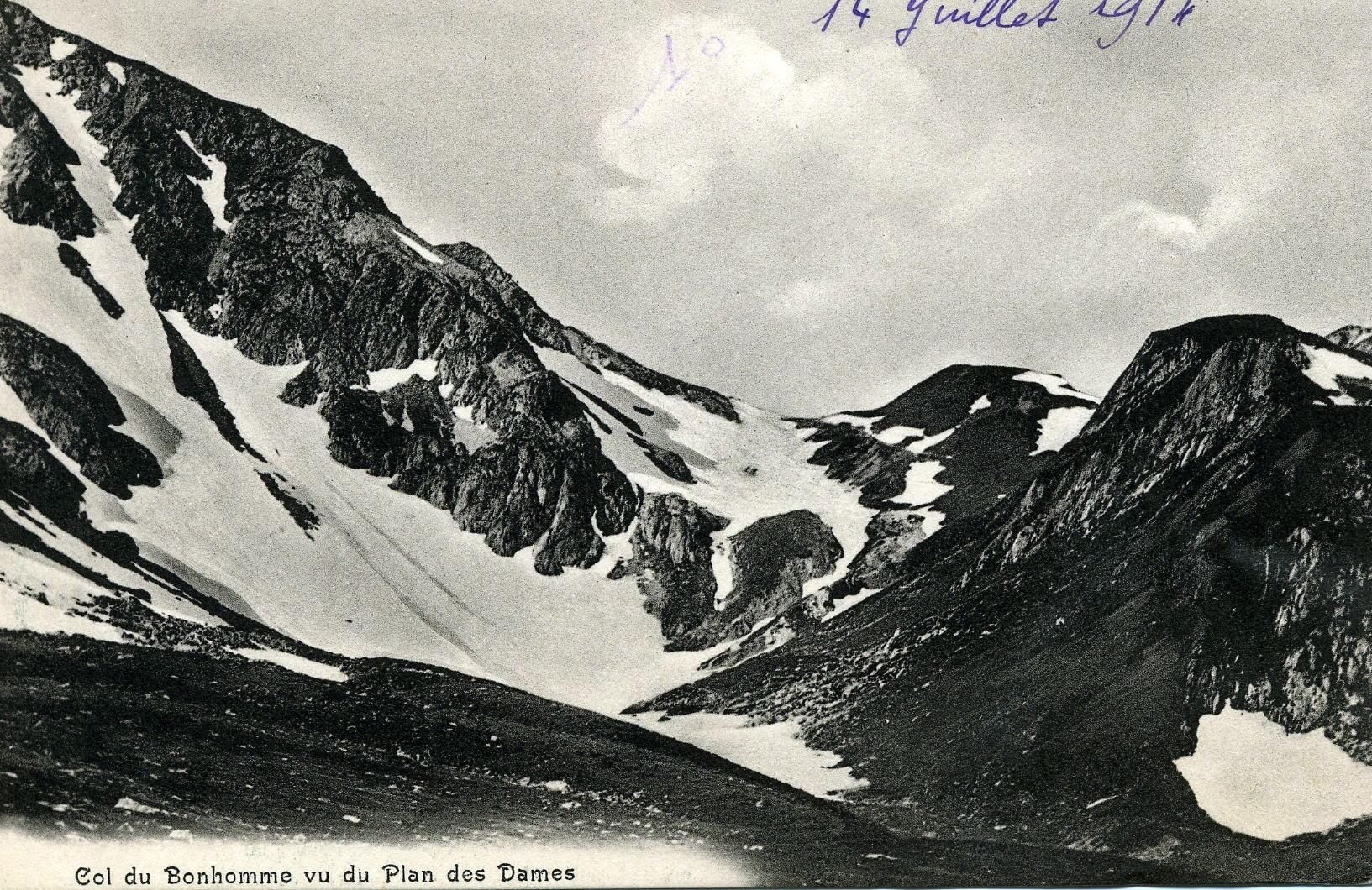 Le Col du Bonhomme 2329m