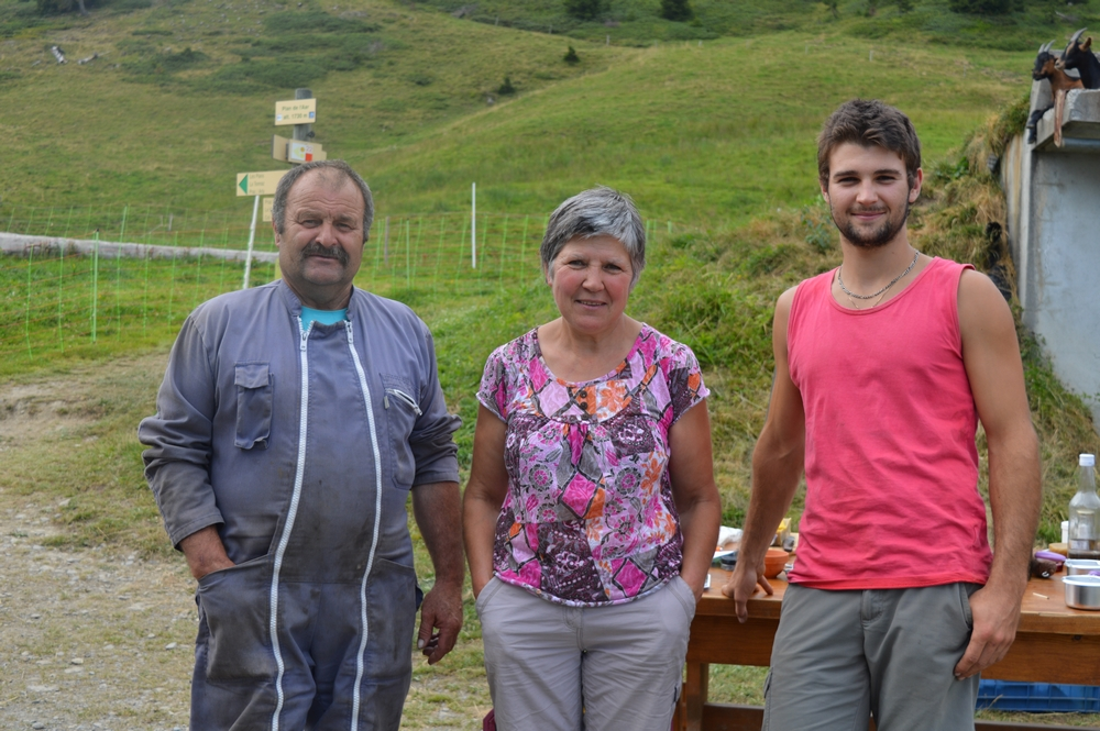 Gardien  : Arlette et Bernard ARVIN-BEROD